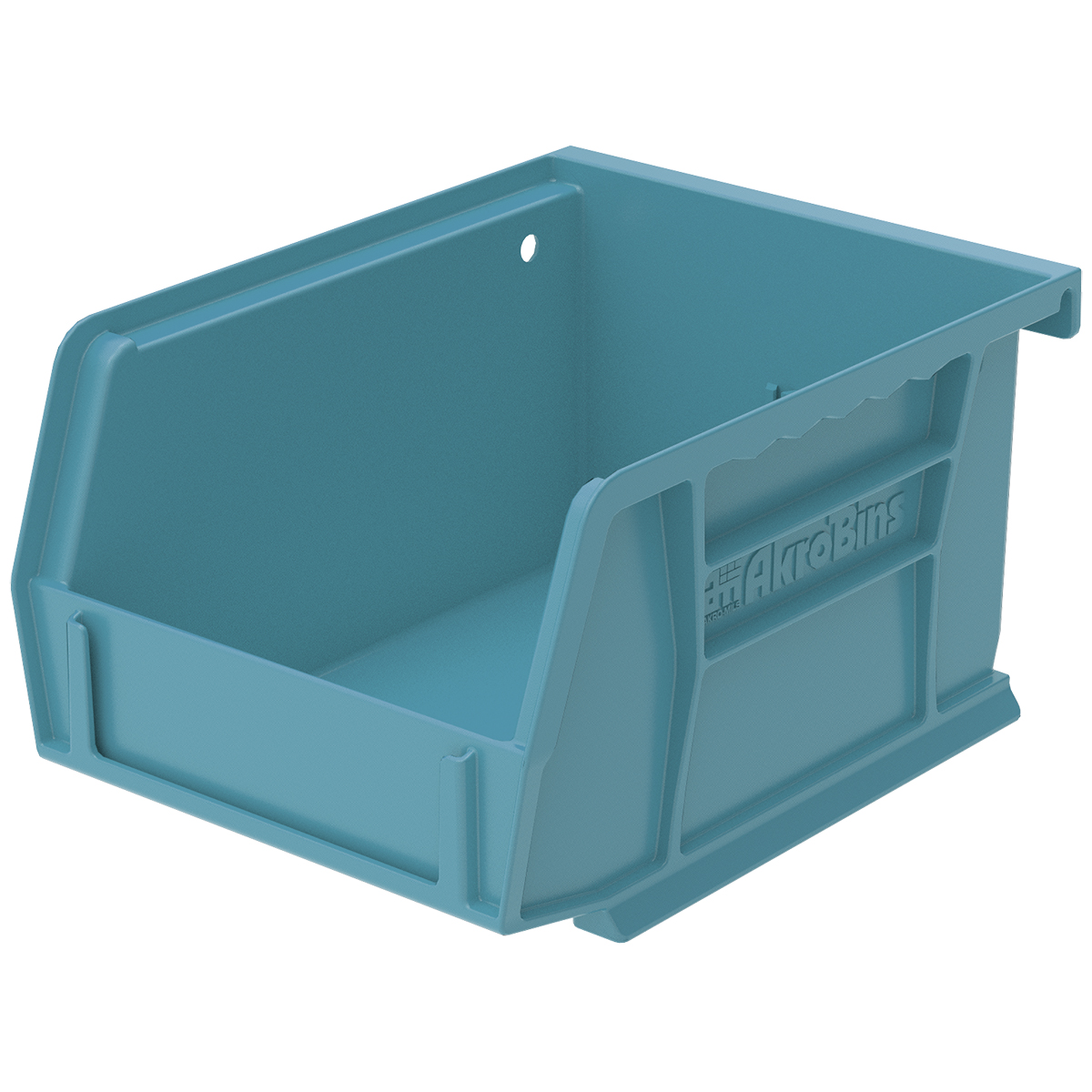 AkroBin 5-3/8 x 4-1/8 x 3, Light Blue (30210LTBLU).  This item sold in carton quantities of 24.