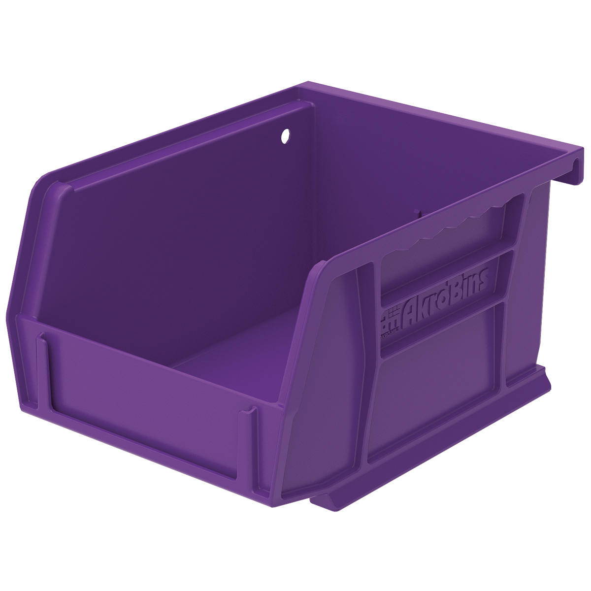 AkroBin 5-3/8 x 4-1/8 x 3, Purple (30210PURPL).  This item sold in carton quantities of 24.