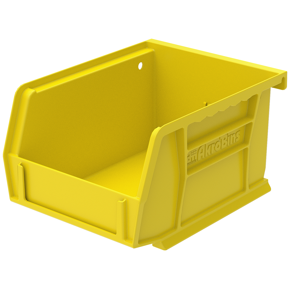 AkroBin 5-3/8 x 4-1/8 x 3, Yellow (30210YELLO).  This item sold in carton quantities of 24.