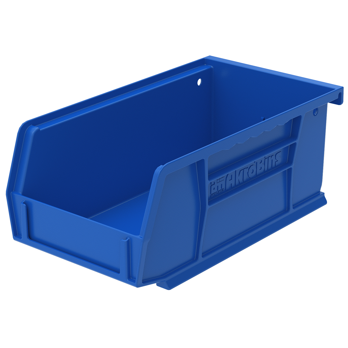 AkroBin 7-3/8 x 4-1/8 x 3, Blue (30220BLUE).  This item sold in carton quantities of 24.
