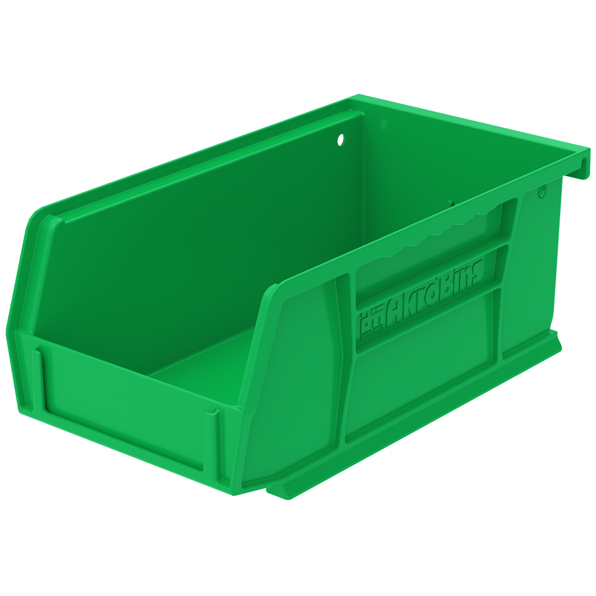 AkroBin 7-3/8 x 4-1/8 x 3, Green (30220GREEN).  This item sold in carton quantities of 24.