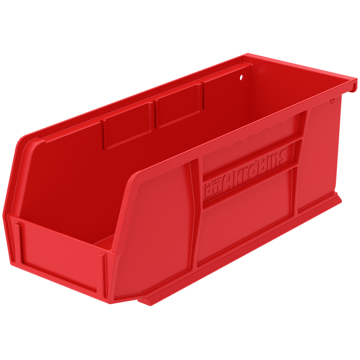 AkroBin 7-3/8 x 4-1/8 x 3, Red (30220RED).  This item sold in carton quantities of 24.