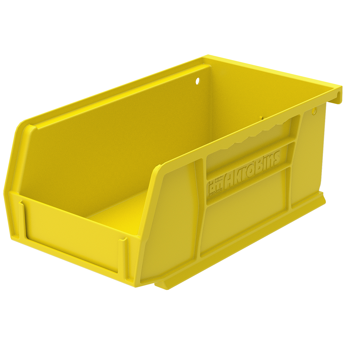 AkroBin 7-3/8 x 4-1/8 x 3, Yellow (30220YELLO).  This item sold in carton quantities of 24.