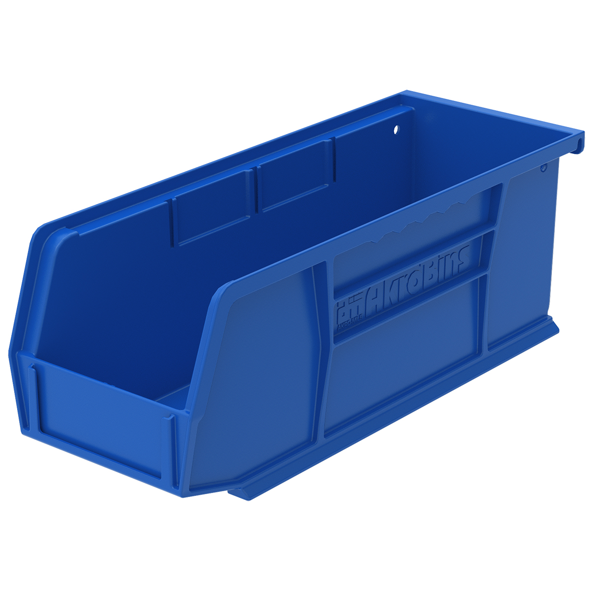 AkroBin 10-7/8 x 4-1/8 x 4, Blue (30224BLUE).  This item sold in carton quantities of 12.