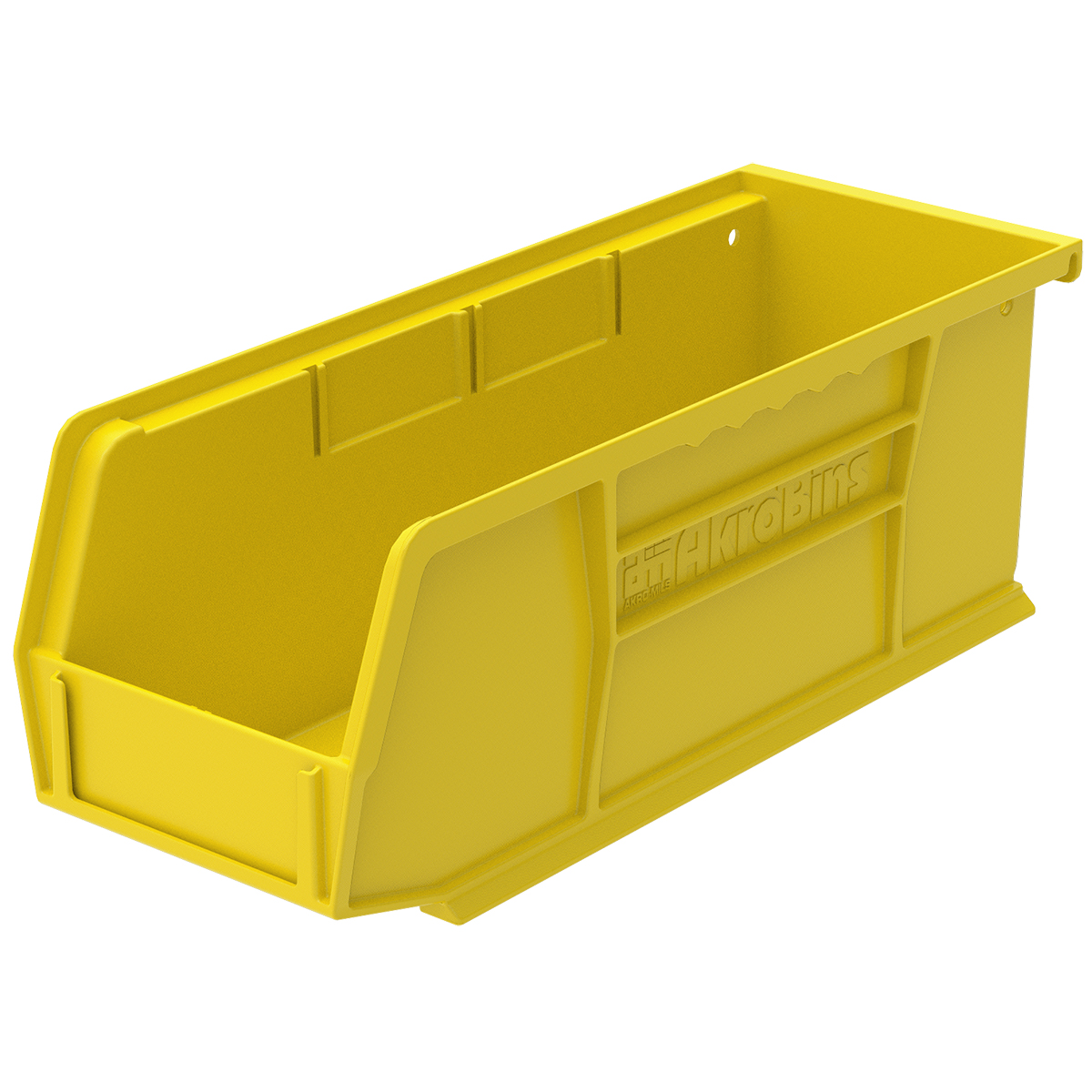 AkroBin 10-7/8 x 4-1/8 x 4, Yellow (30224YELLO).  This item sold in carton quantities of 12.