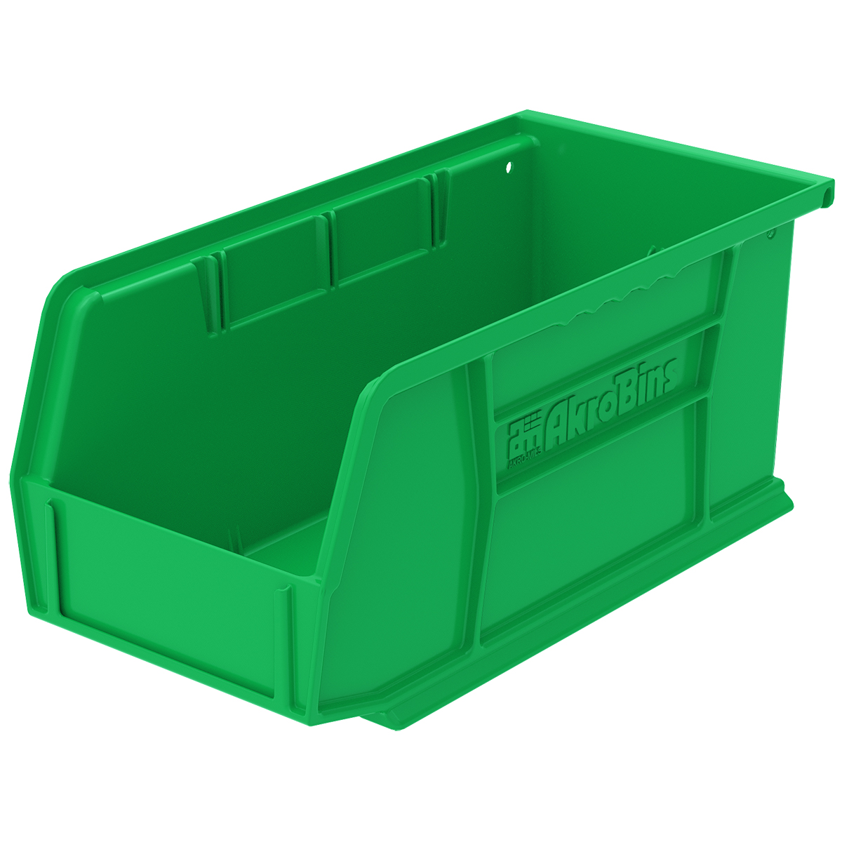 AkroBin 10-7/8 x 5-1/2 x 5, Green (30230GREEN).  This item sold in carton quantities of 12.