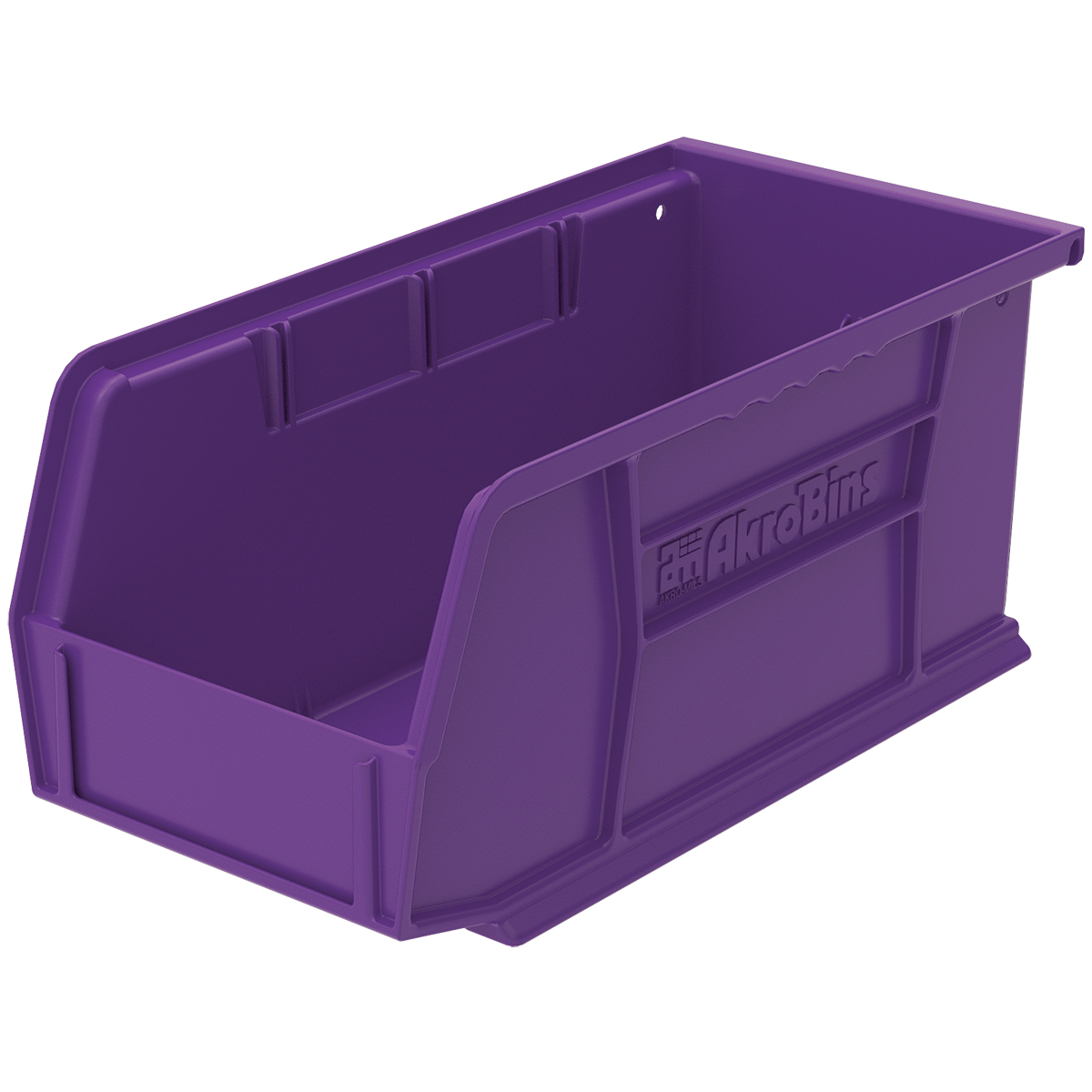 AkroBin 10-7/8 x 5-1/2 x 5, Purple (30230PURPL).  This item sold in carton quantities of 12.