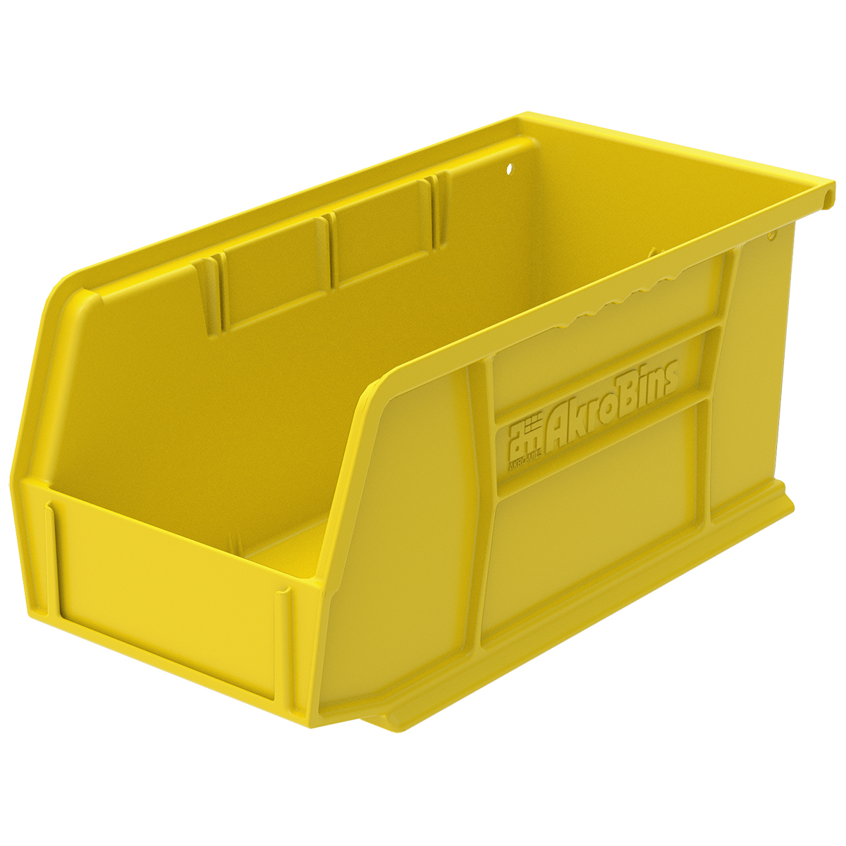AkroBin 10-7/8 x 5-1/2 x 5, Yellow (30230YELLO).  This item sold in carton quantities of 12.