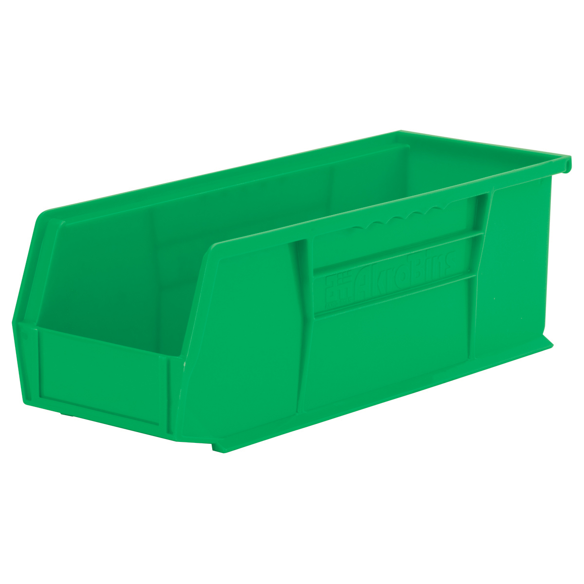 AkroBin 14-3/4 x 5-1/2 x 5, Green (30234GREEN).  This item sold in carton quantities of 12.