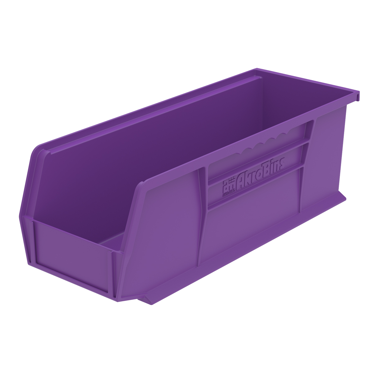 AkroBin 14-3/4 x 5-1/2 x 5, Purple (30234PURPL).  This item sold in carton quantities of 12.
