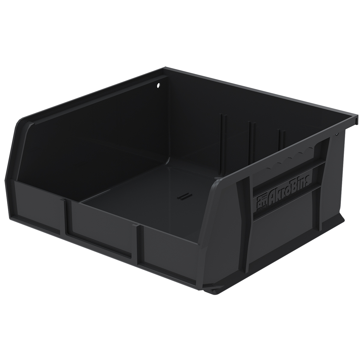 AkroBin 10-7/8 x 11 x 5, Black (30235BLACK).  This item sold in carton quantities of 6.