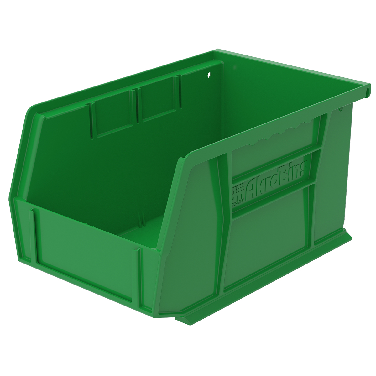 AkroBin 9-1/4 x 6 x 5, Green (30237GREEN).  This item sold in carton quantities of 12.