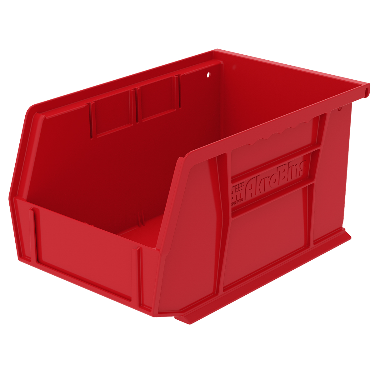 AkroBin 9-1/4 x 6 x 5, Red (30237RED).  This item sold in carton quantities of 12.
