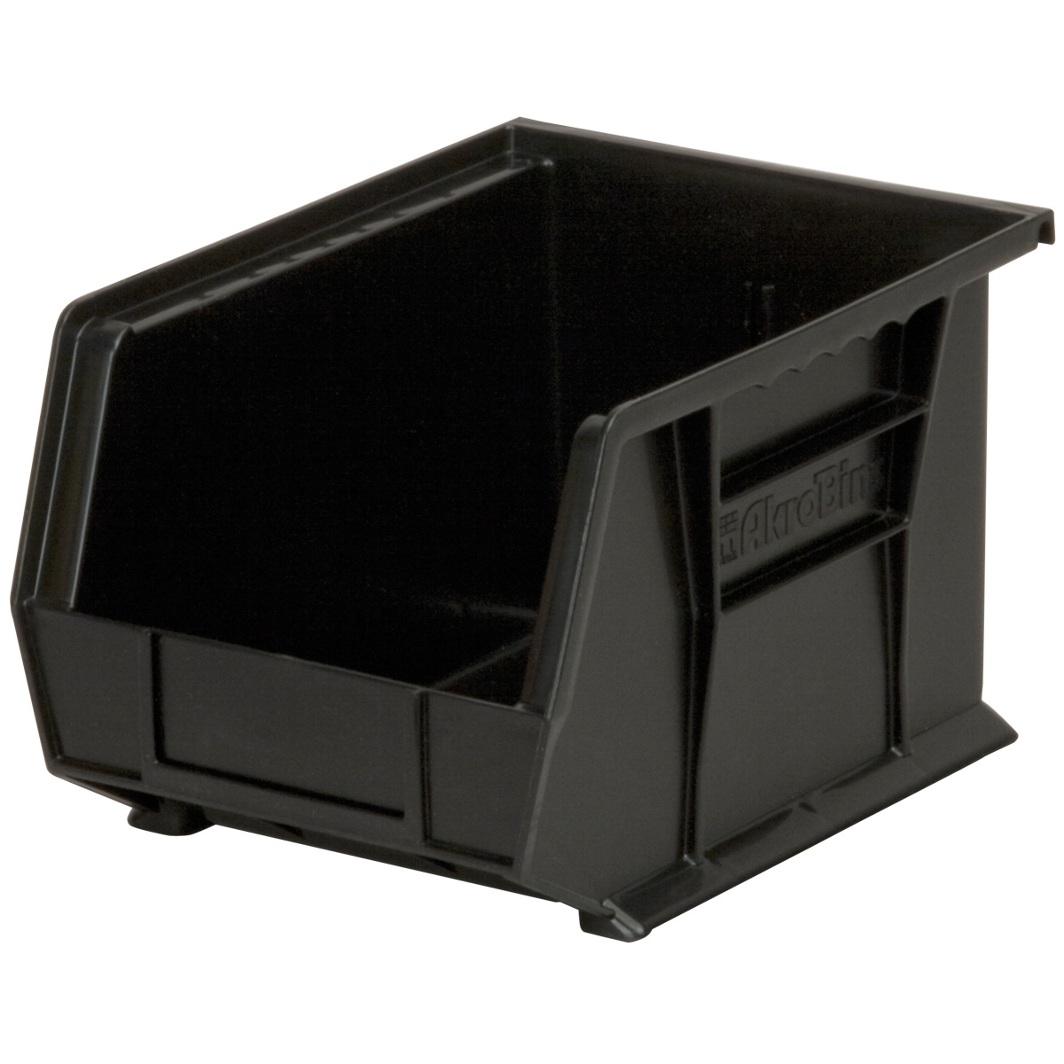 AkroBin 10-3/4 x 8-1/4 x 7, Black (30239BLACK).  This item sold in carton quantities of 6.