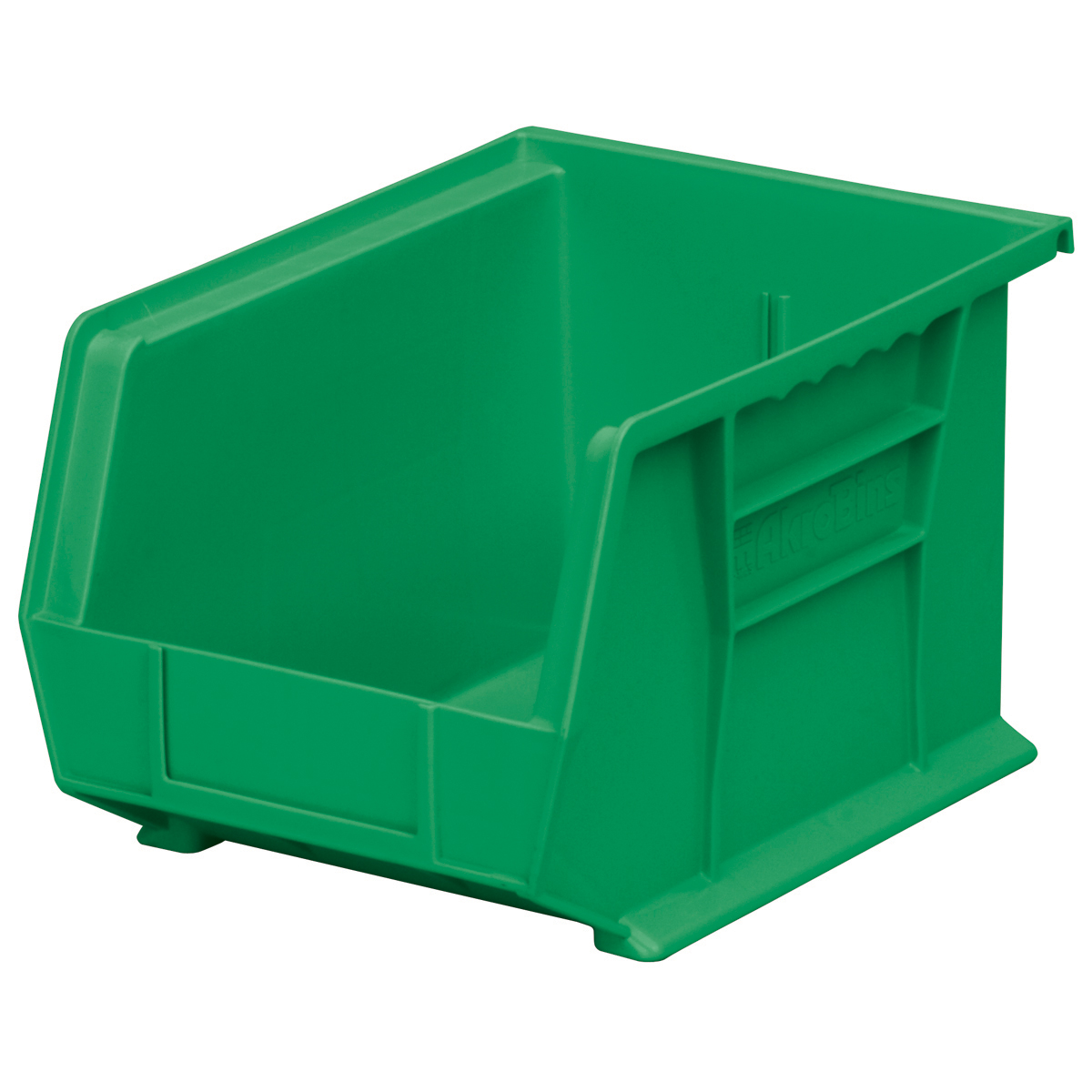 AkroBin 10-3/4 x 8-1/4 x 7, Green (30239GREEN).  This item sold in carton quantities of 6.
