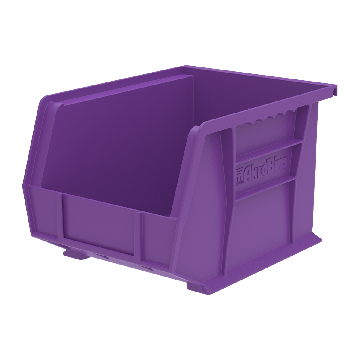 AkroBin 10-3/4 x 8-1/4 x 7, Purple (30239PURPL).  This item sold in carton quantities of 6.