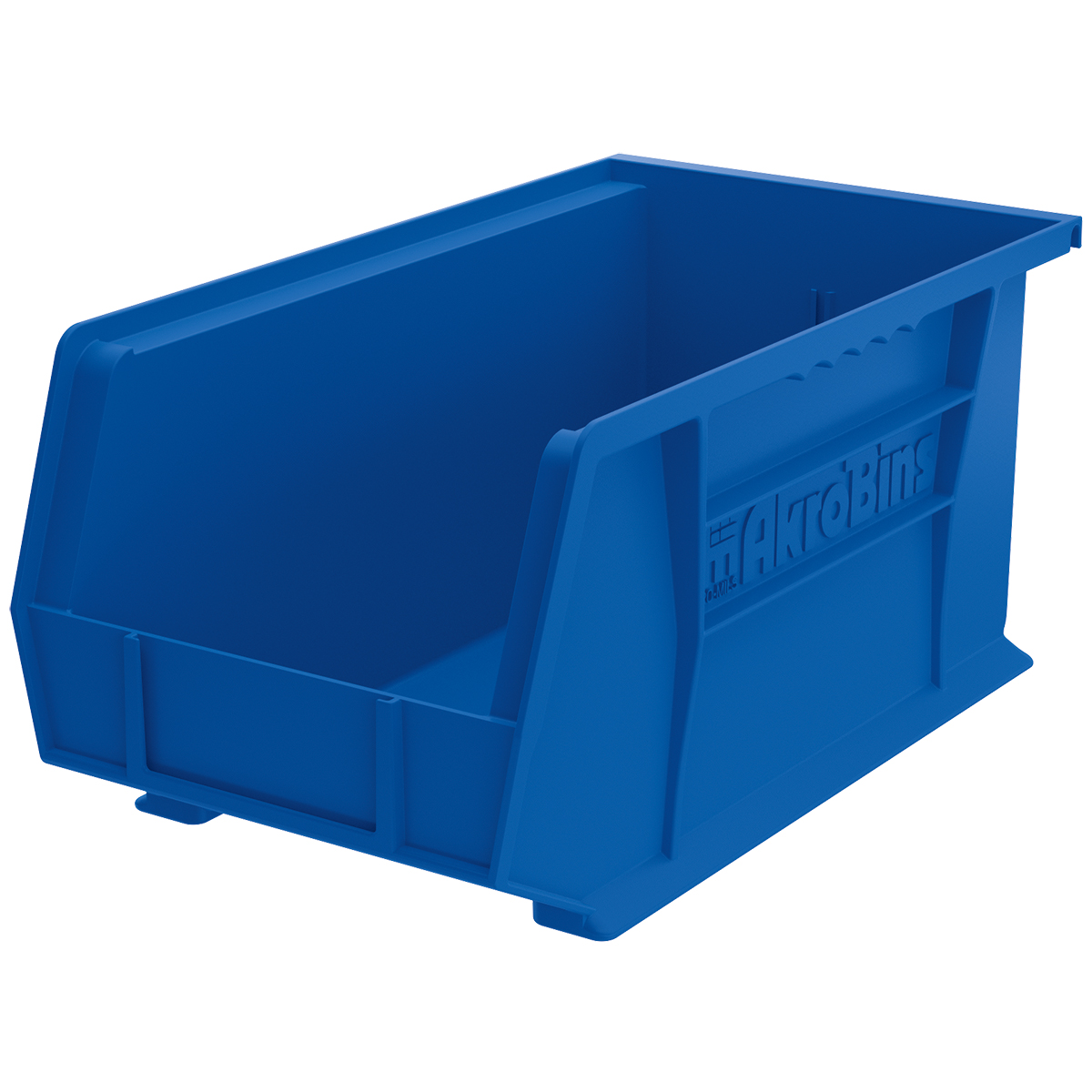 AkroBin 14-3/4 x 8-1/4 x 7, Blue (30240BLUE).  This item sold in carton quantities of 12.