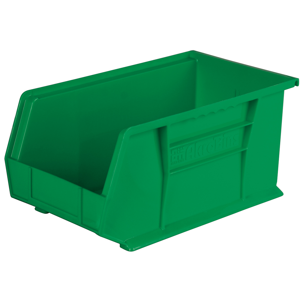 AkroBin 14-3/4 x 8-1/4 x 7, Green (30240GREEN).  This item sold in carton quantities of 12.