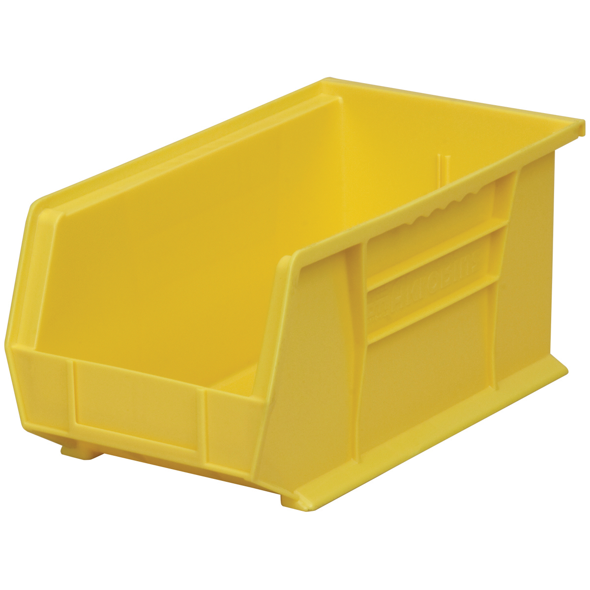 AkroBin 14-3/4 x 8-1/4 x 7, Yellow (30240YELLO).  This item sold in carton quantities of 12.