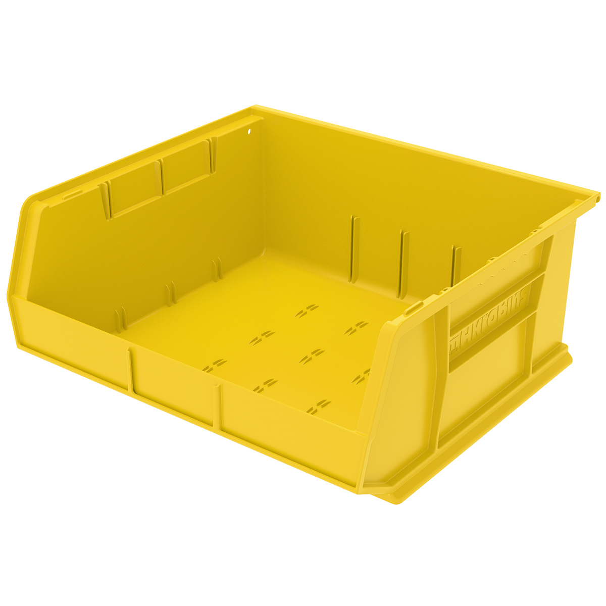 AkroBin 14-3/4 x 16-1/2 x 7, Yellow (30250YELLO).  This item sold in carton quantities of 6.