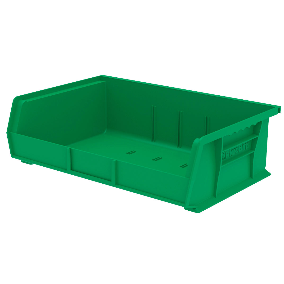 AkroBin 10-7/8 x 16-1/2 x 5, Green (30255GREEN).  This item sold in carton quantities of 6.
