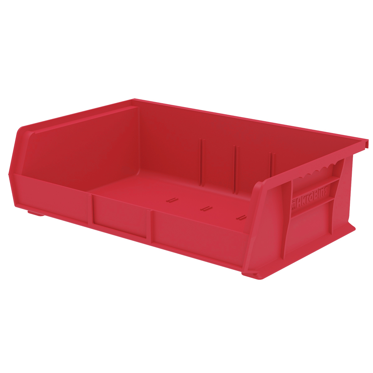 AkroBin 10-7/8 x 16-1/2 x 5, Red (30255RED).  This item sold in carton quantities of 6.