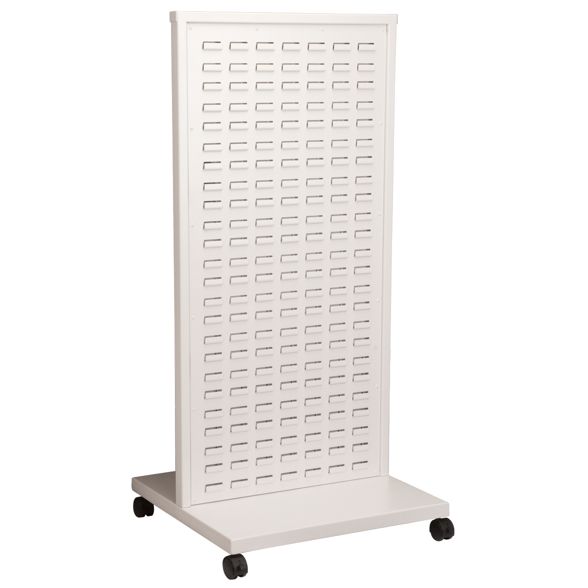 Item DISCONTINUED by Manufacturer.  ReadySpace Floor Unit, 24-5/8 x 23 x 52, White (30553).  This item sold in carton quantities of 1.