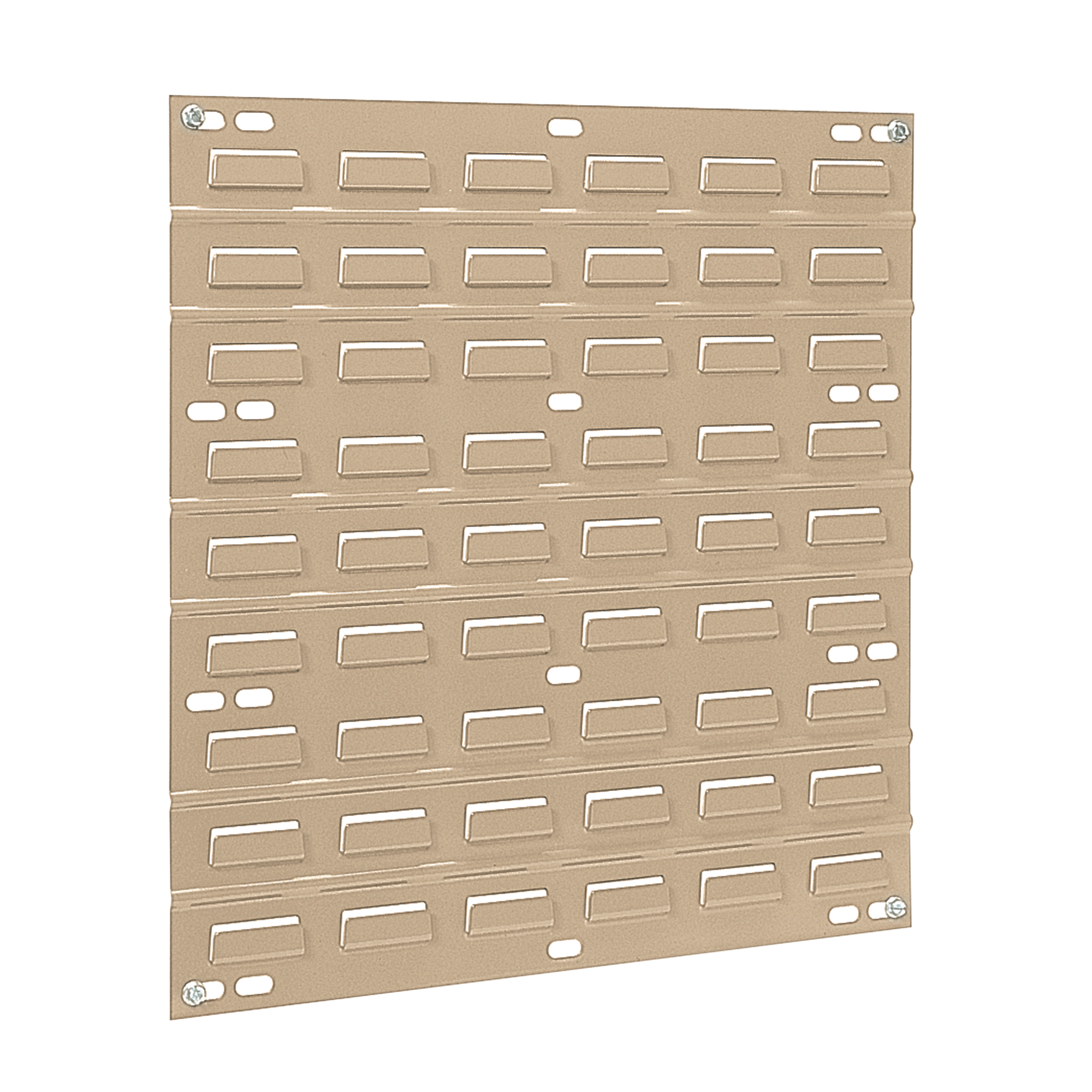 Item DISCONTINUED by Manufacturer.  Louvered Wall Panel, 18 x 19, Beige (30618BEIGE).  This item sold in carton quantities of 4.