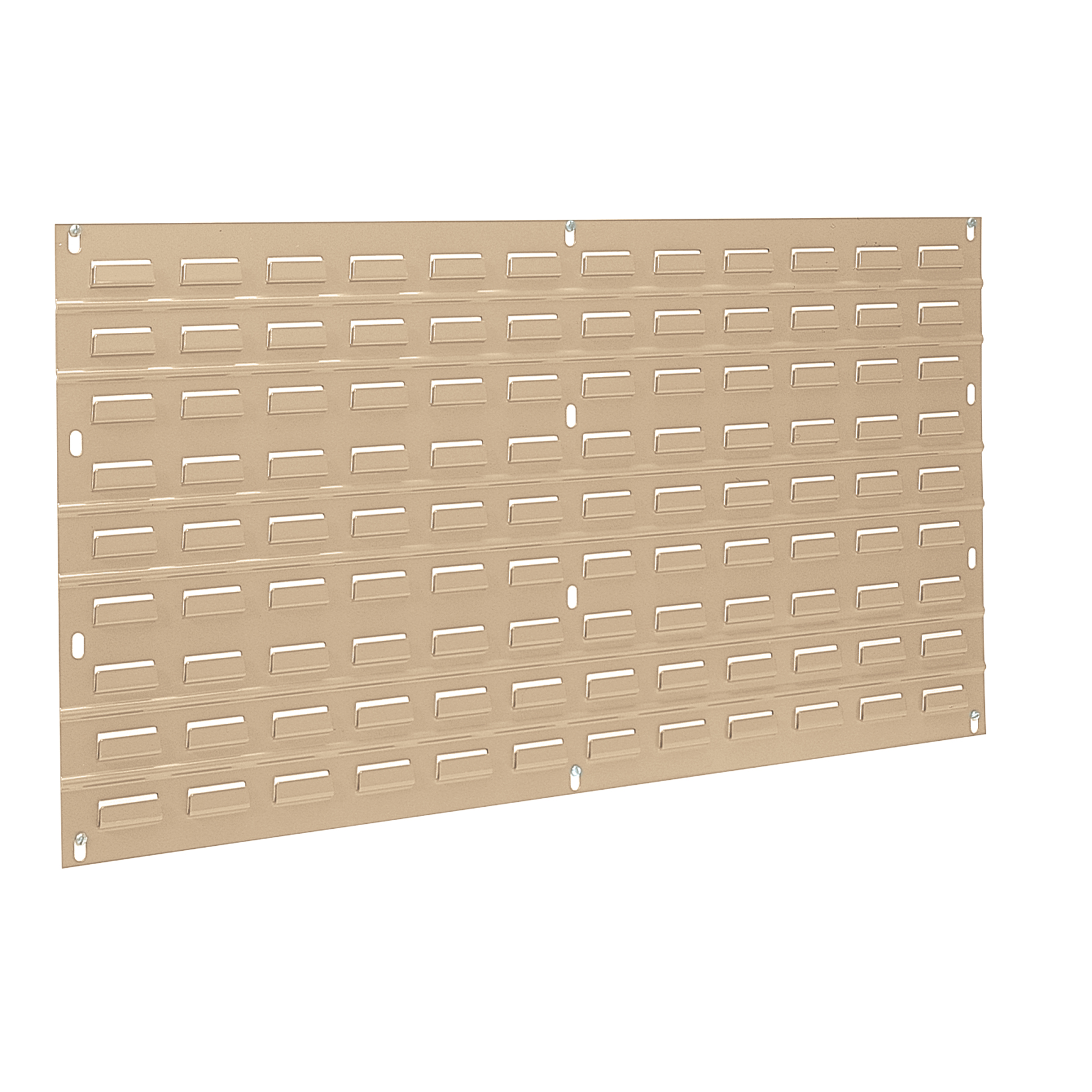 Louvered Wall Panel, 35-3/4 x 19, Beige (30636BEIGE).  This item sold in carton quantities of 4.