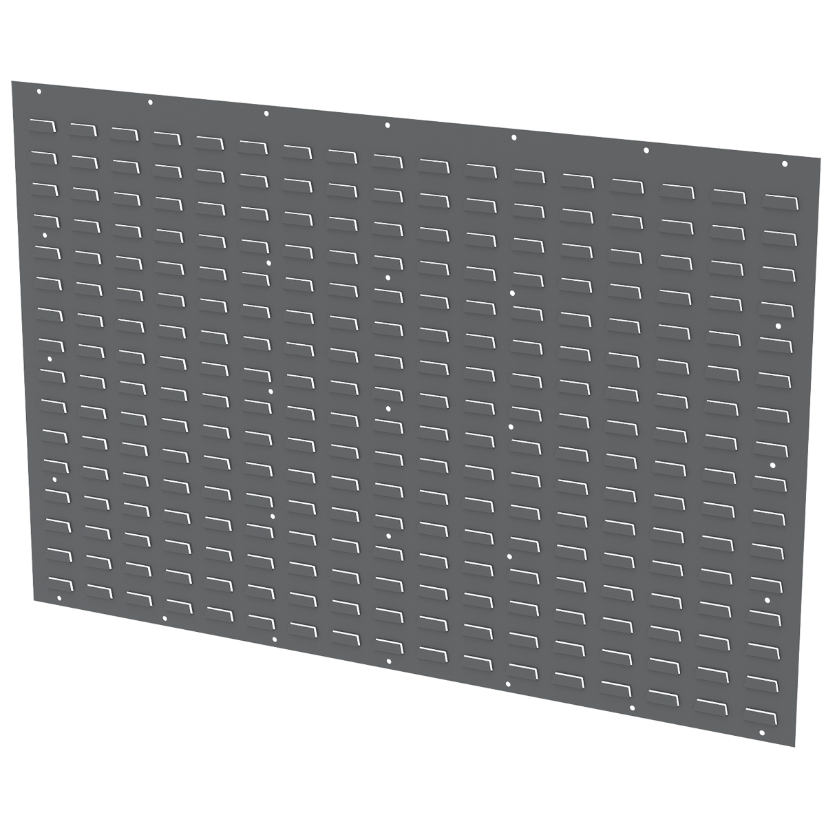 Louvered Wall Panel 52 x 34-1/8, Gray (30655GY).  This item sold in carton quantities of 1.