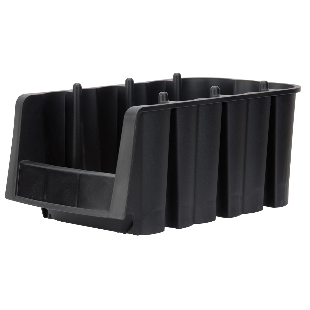 Economy Shelf Bin 11-7/8 x 6-5/8 x 5, Black (30716BLACK).  This item sold in carton quantities of 10.