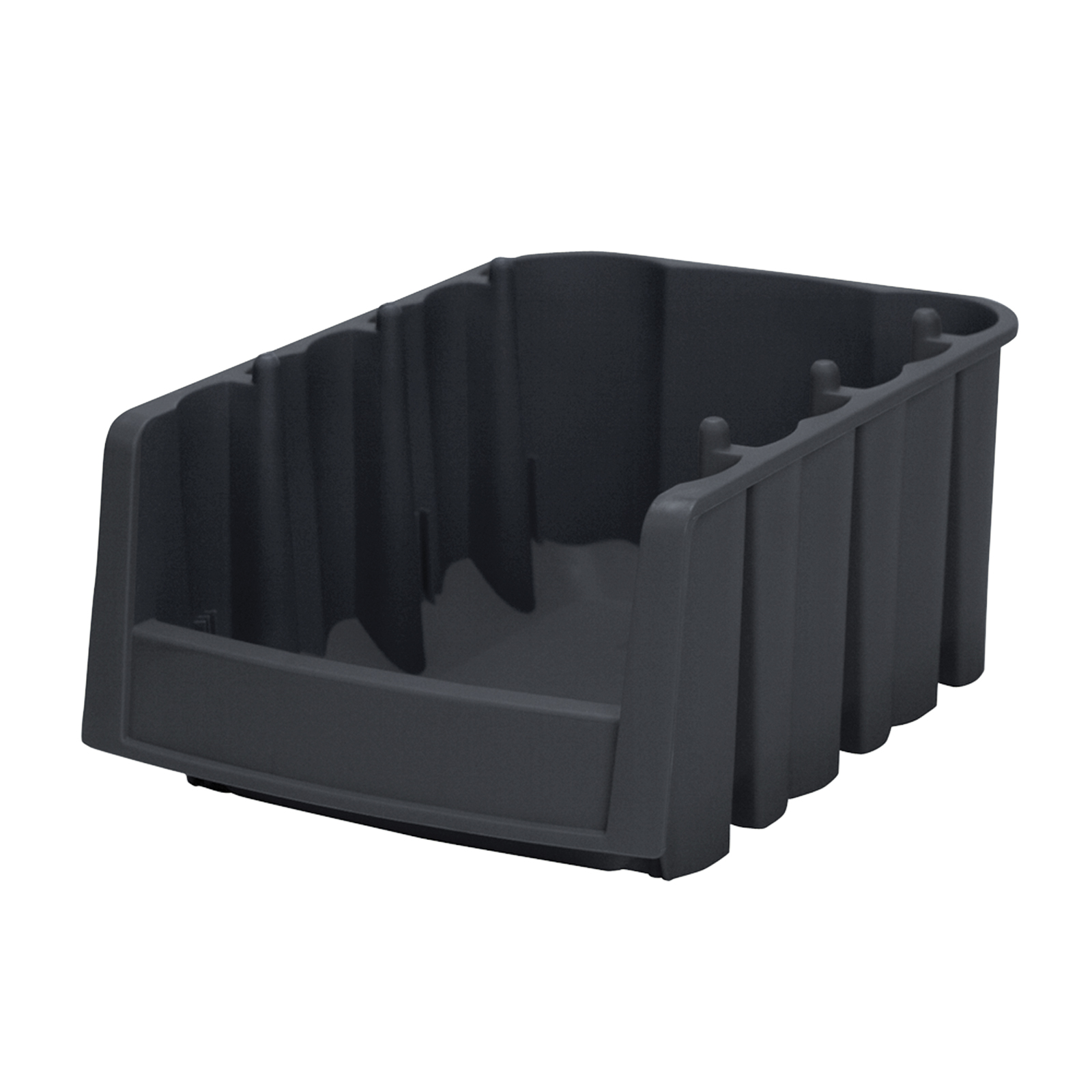Economy Shelf Bin 17-7/8 x 6-5/8 x 7, Black (30776BLACK).  This item sold in carton quantities of 10.
