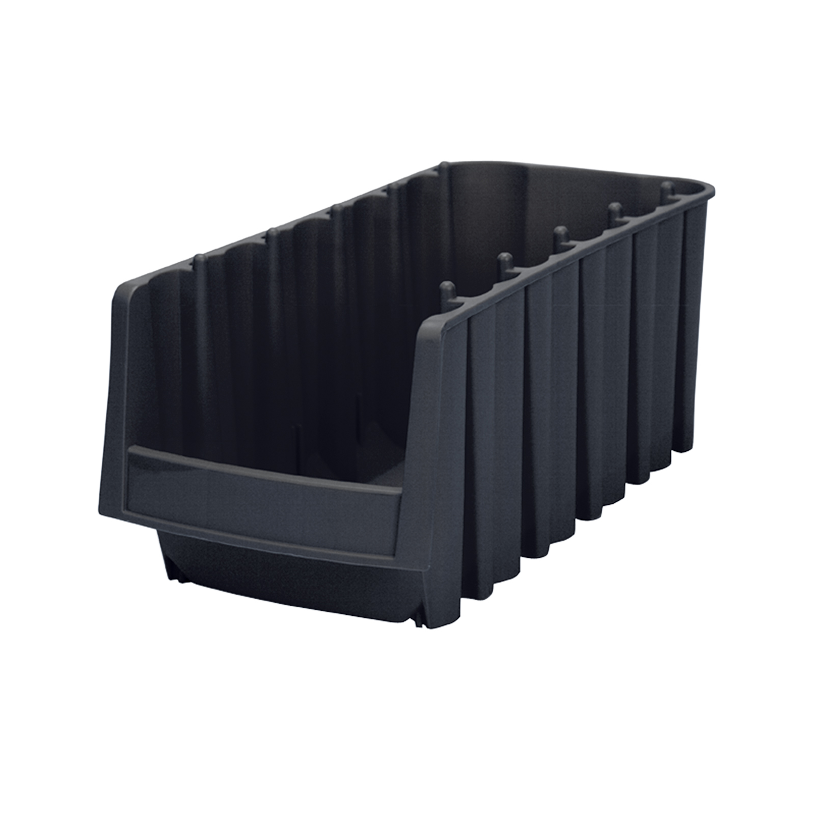 Economy Shelf Bin 17-7/8 x 8-3/8 x 7, Black (30778BLACK).  This item sold in carton quantities of 8.