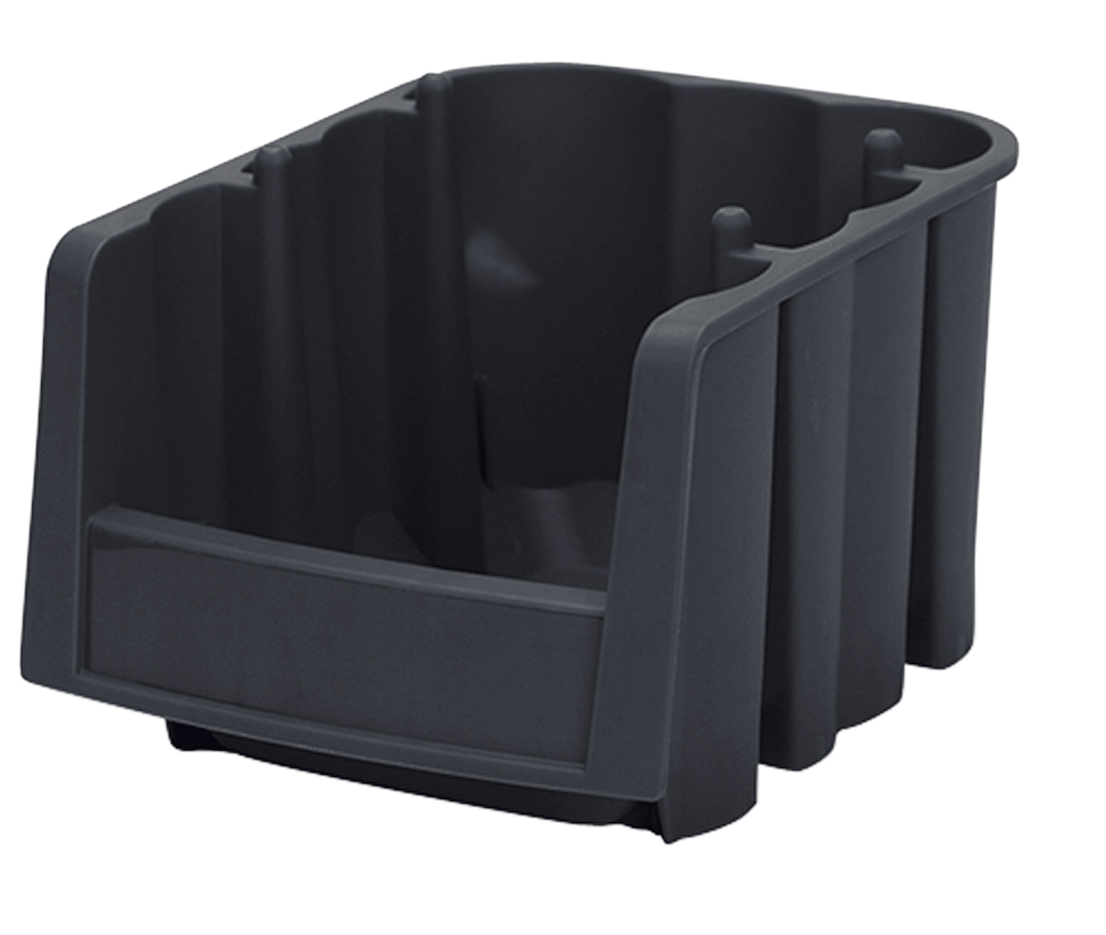 Economy Shelf Bin 8-7/8 x 6-5/8 x 5, Black (30796BLACK).  This item sold in carton quantities of 10.