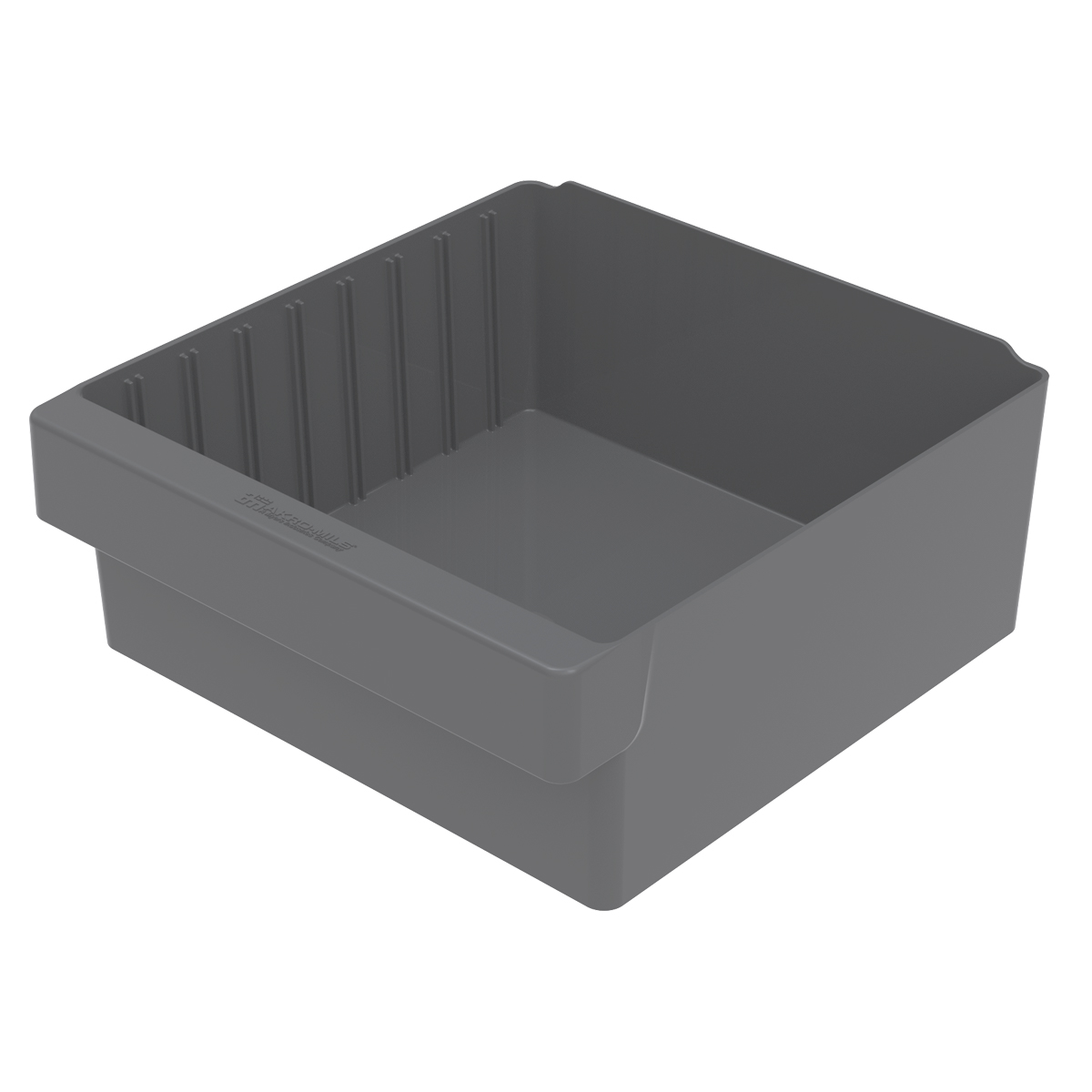 AkroDrawer 11-5/8 x 11-1/8 x 4-5/8, Gray (31112GRY).  This item sold in carton quantities of 4.