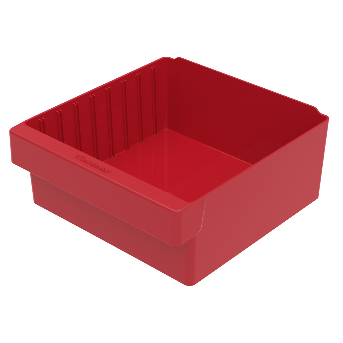 AkroDrawer 11-5/8 x 11-1/8 x 4-5/8, Red (31112RED).  This item sold in carton quantities of 4.