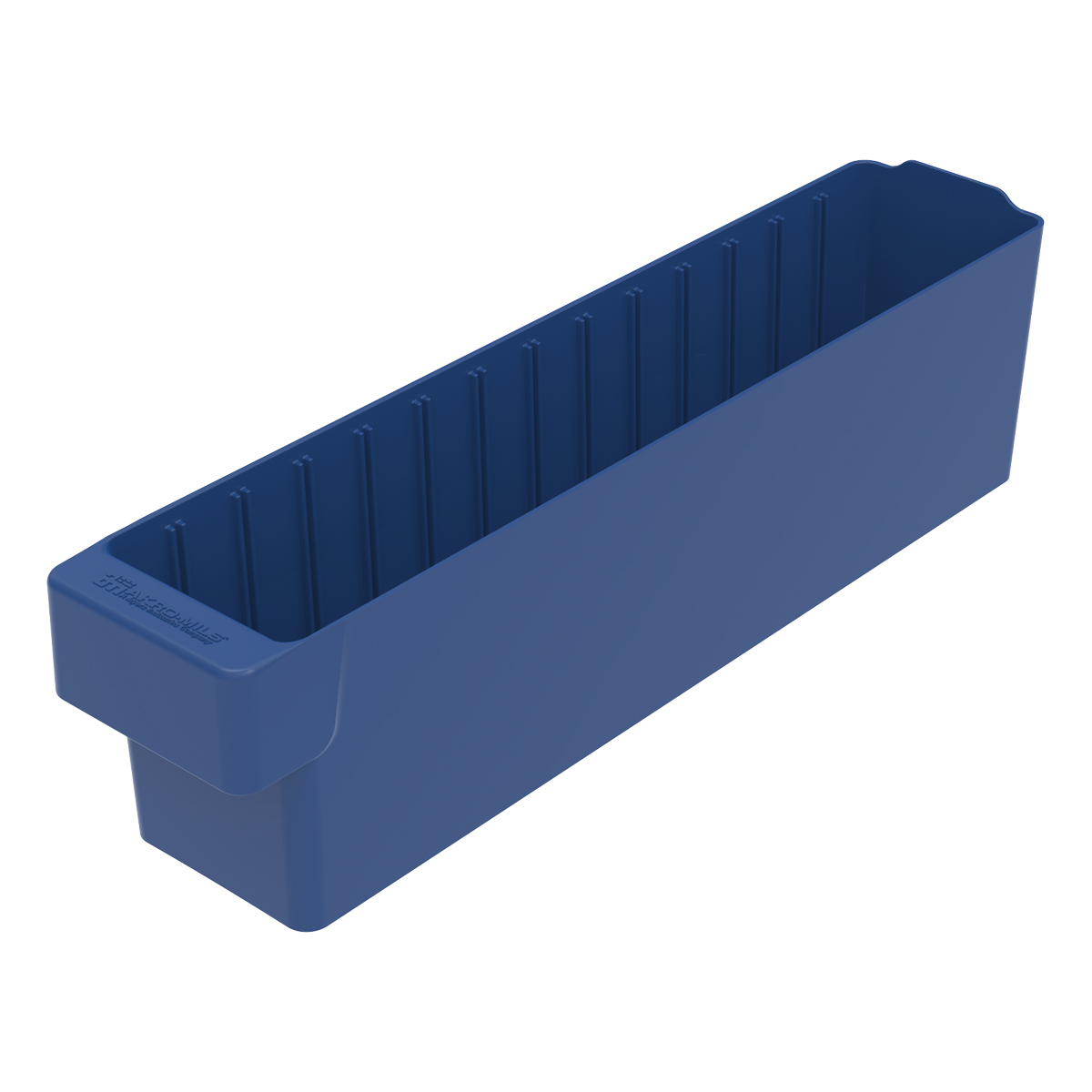 AkroDrawer 17-5/8 x 3-3/4 x 4-5/8, Blue (31148BLU).  This item sold in carton quantities of 6.