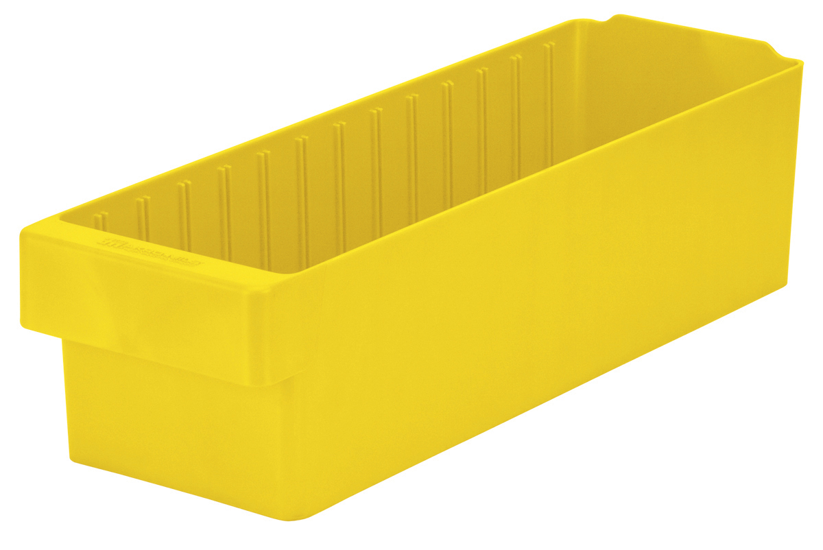 AkroDrawer 17-5/8 x 5-5/8 x 4-5/8, Yellow (31168YEL).  This item sold in carton quantities of 6.
