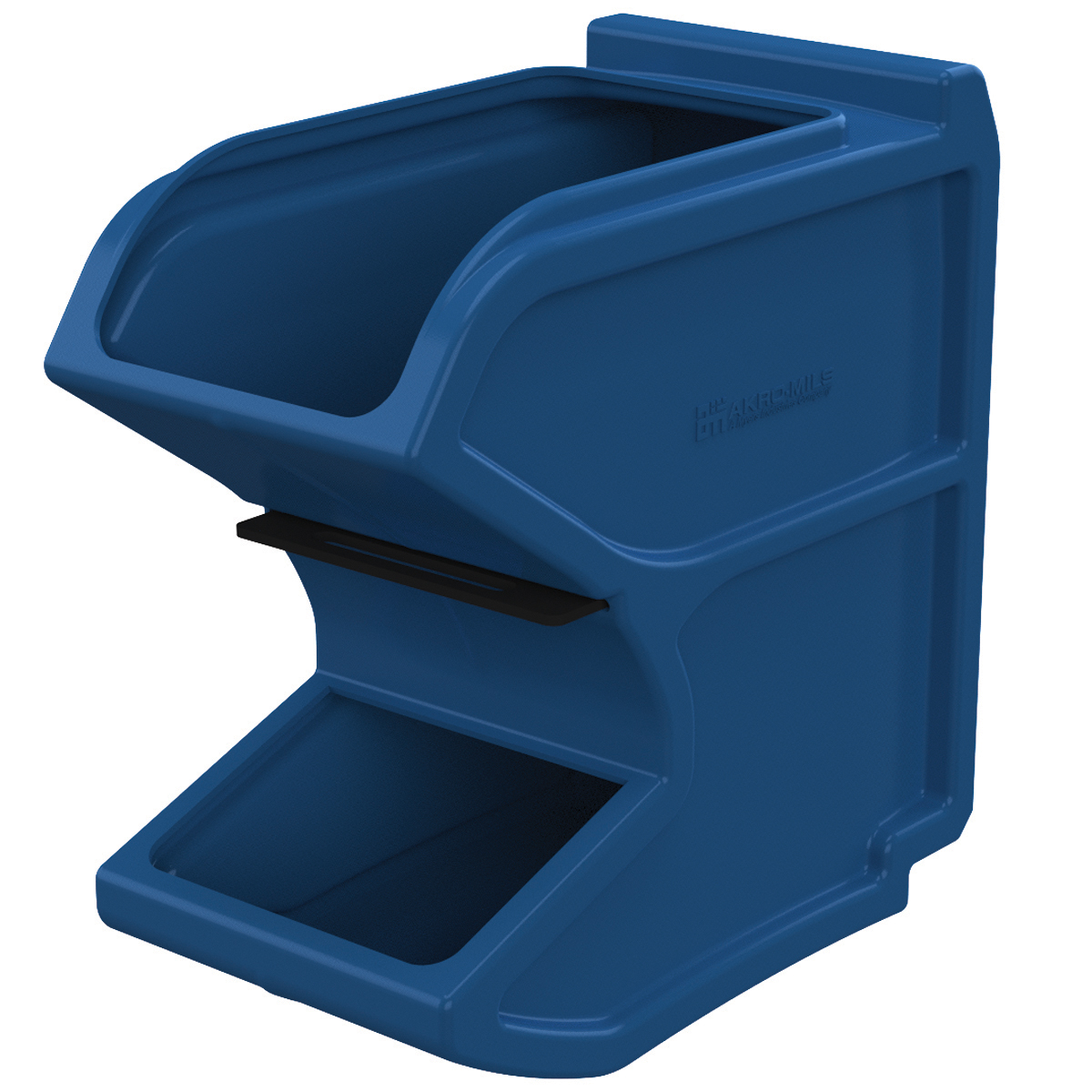 Easy Flow Gravity Hopper 16 x 8-1/4 x 16, Blue w/ Divider (31620BLUE).  This item sold in carton quantities of 1.