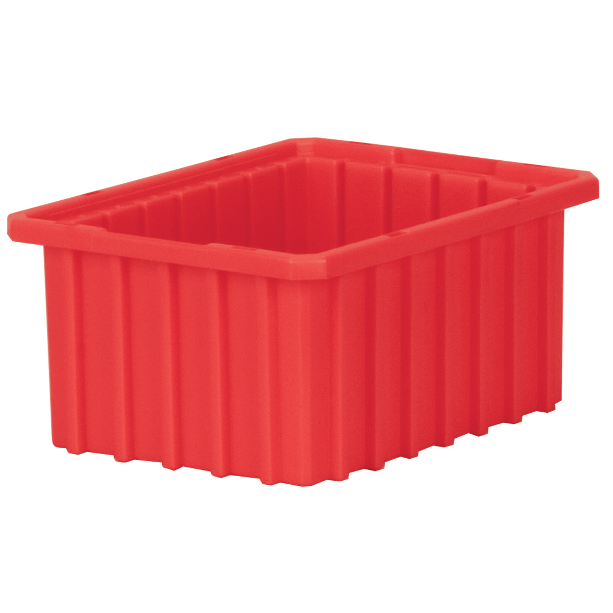 Akro-Grid Dividable Box 10-7/8 x 8-1/4 x 5, Red (33105RED).  This item sold in carton quantities of 20.