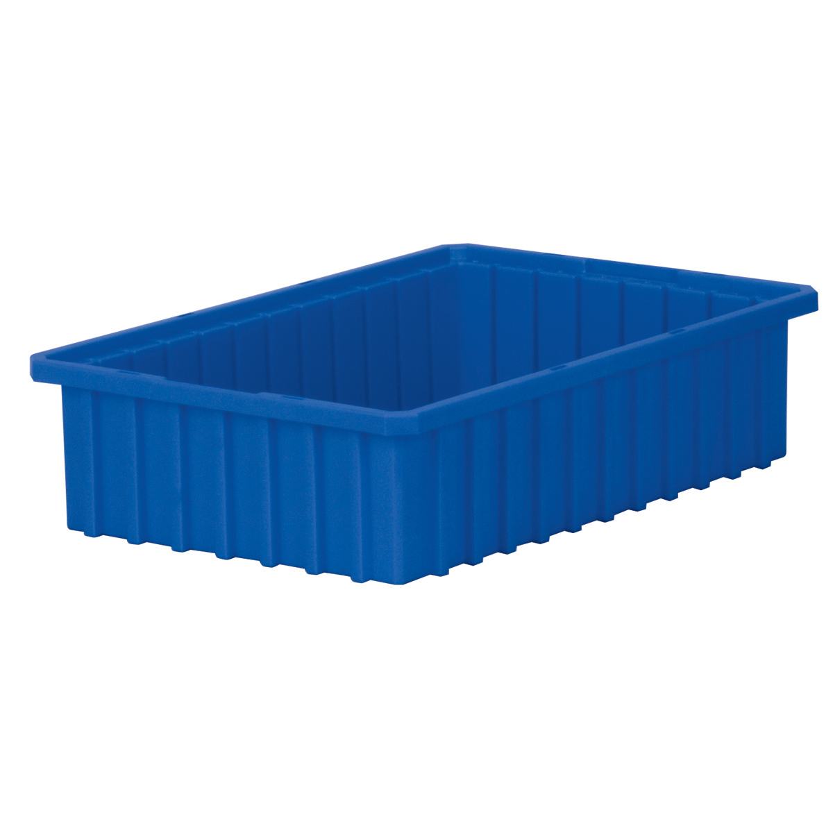 Akro-Grid Dividable Box 16-1/2 x 10-7/8 x 4, Blue (33164BLUE).  This item sold in carton quantities of 12.
