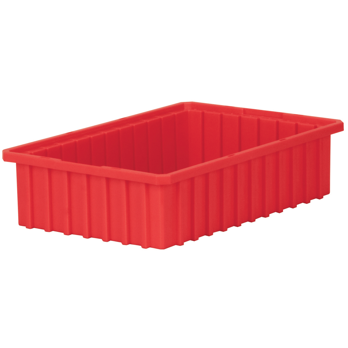 Akro-Grid Dividable Box 16-1/2 x 10-7/8 x 4, Red (33164RED).  This item sold in carton quantities of 12.