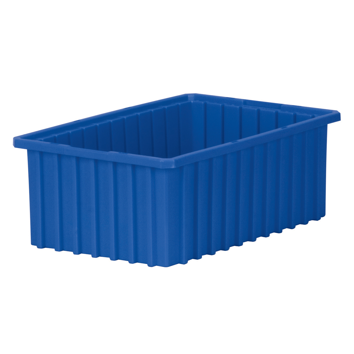 Akro-Grid Dividable Box 16-1/2 x 10-7/8 x 6, Blue (33166BLUE).  This item sold in carton quantities of 8.