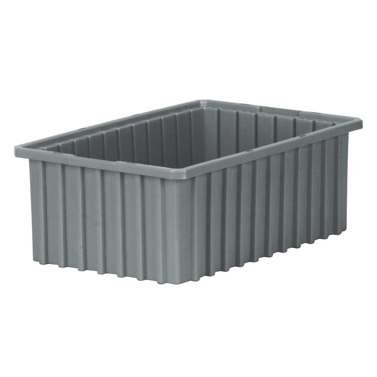 Akro-Grid Dividable Box 16-1/2 x 10-7/8 x 6, Gray (33166GREY).  This item sold in carton quantities of 8.