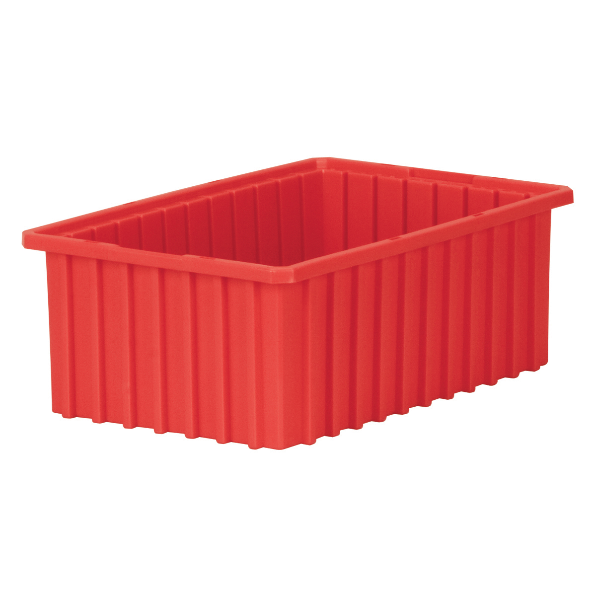 Akro-Grid Dividable Box 16-1/2 x 10-7/8 x 6, Red (33166RED).  This item sold in carton quantities of 8.