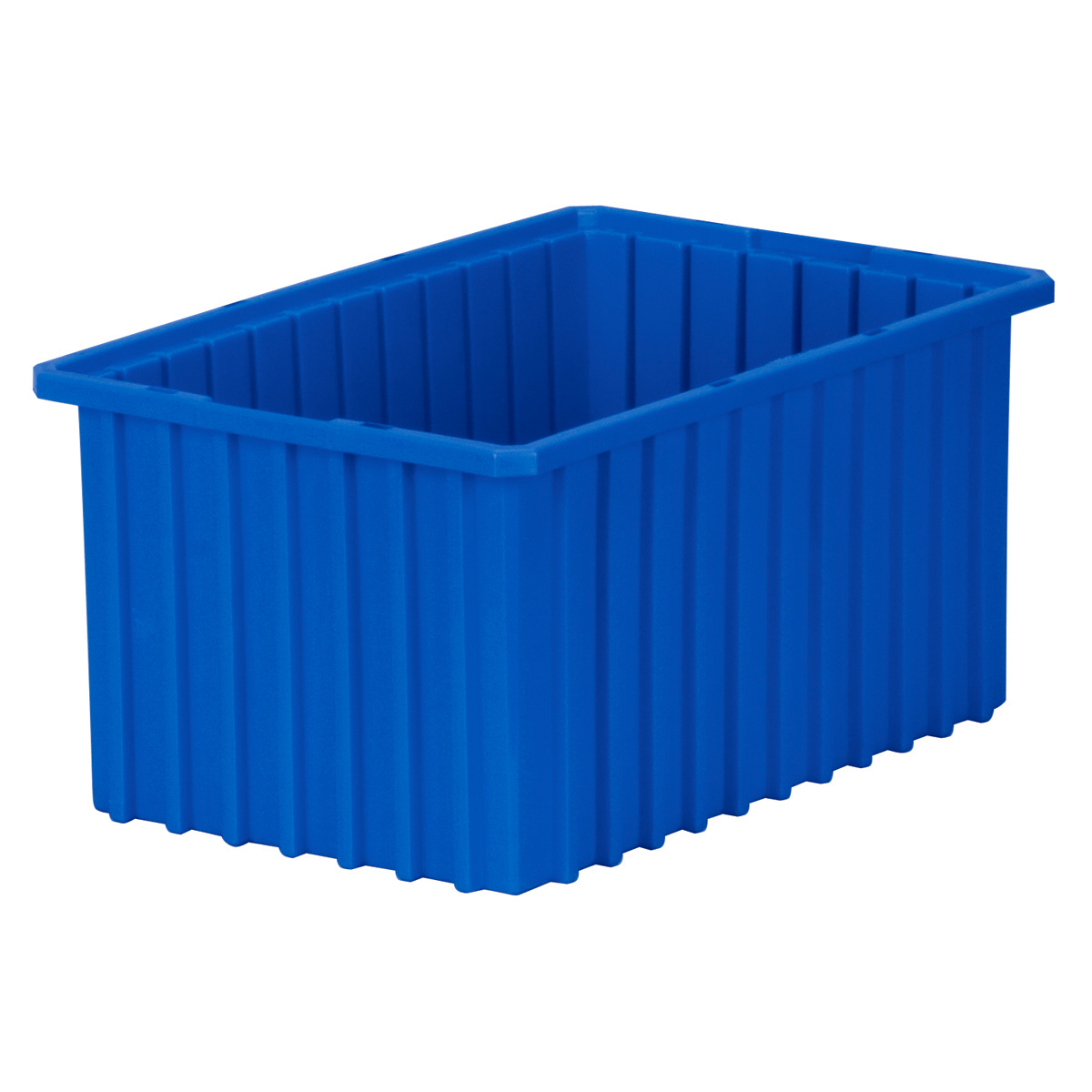Akro-Grid Dividable Box 16-1/2 x 10-7/8 x 8, Blue (33168BLUE).  This item sold in carton quantities of 6.