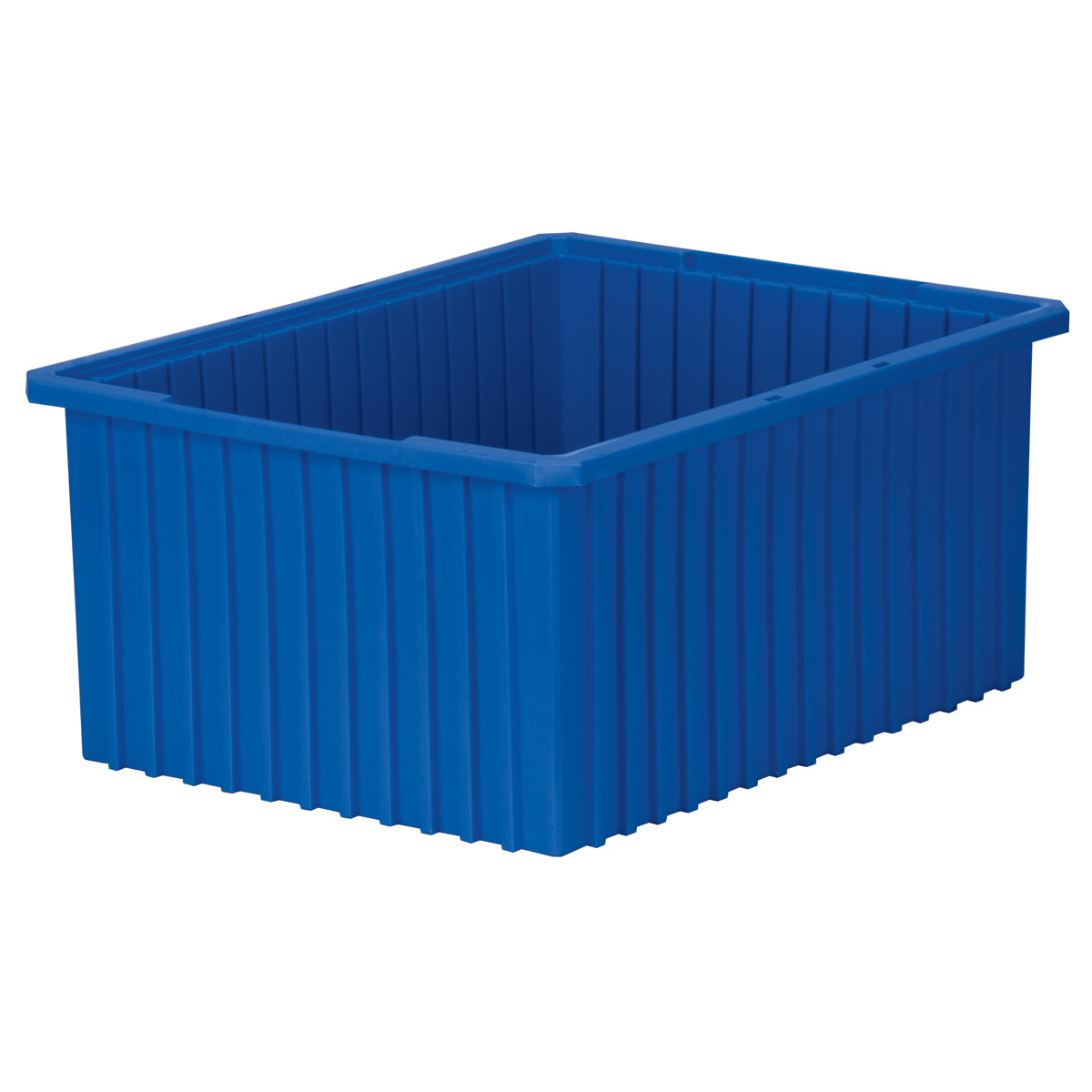 Akro-Grid Dividable Box 22-3/8 x 17-3/8 x 10, Blue (33220BLUE).  This item sold in carton quantities of 2.