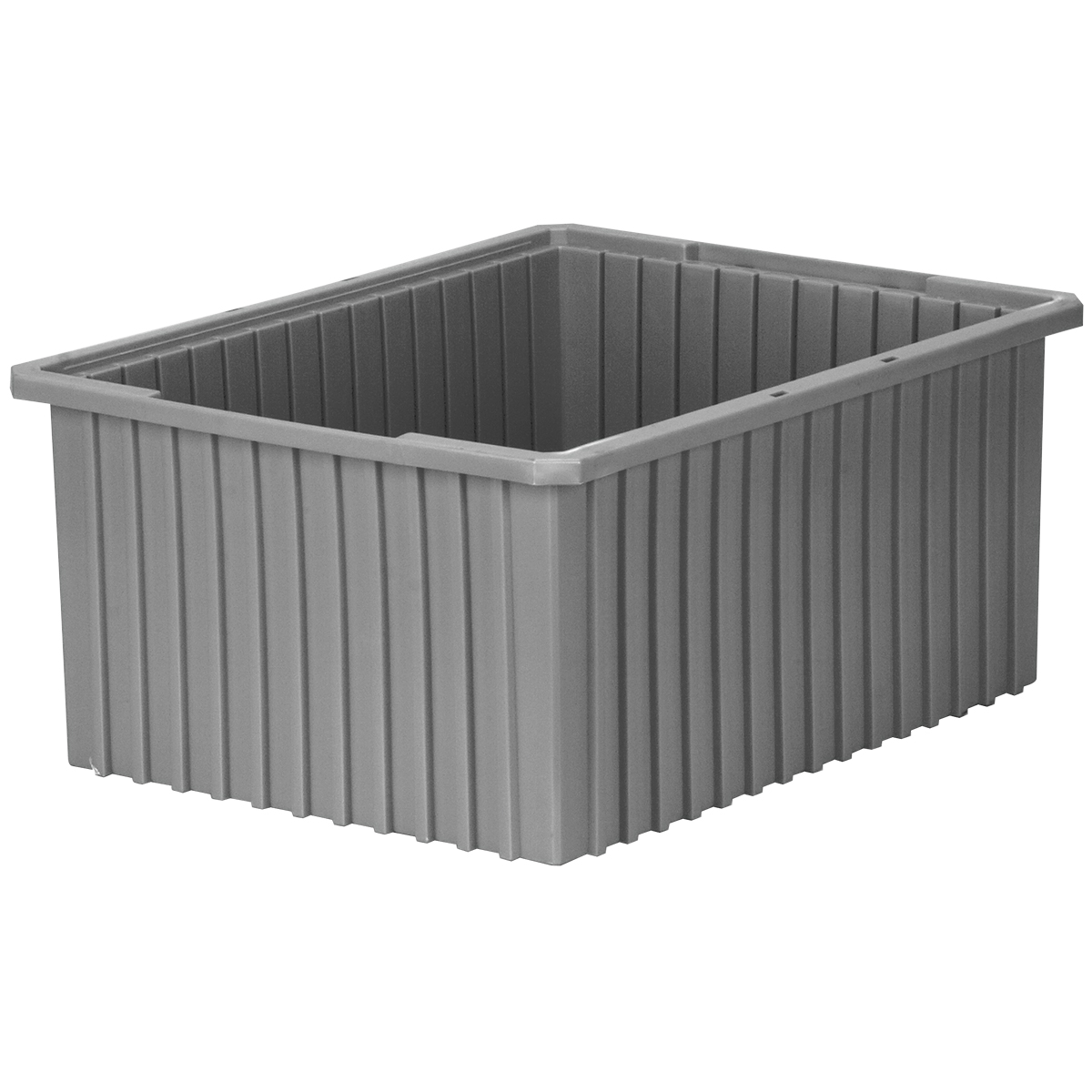 Akro-Grid Dividable Box 22-3/8 x 17-3/8 x 10, Gray (33220GREY).  This item sold in carton quantities of 2.