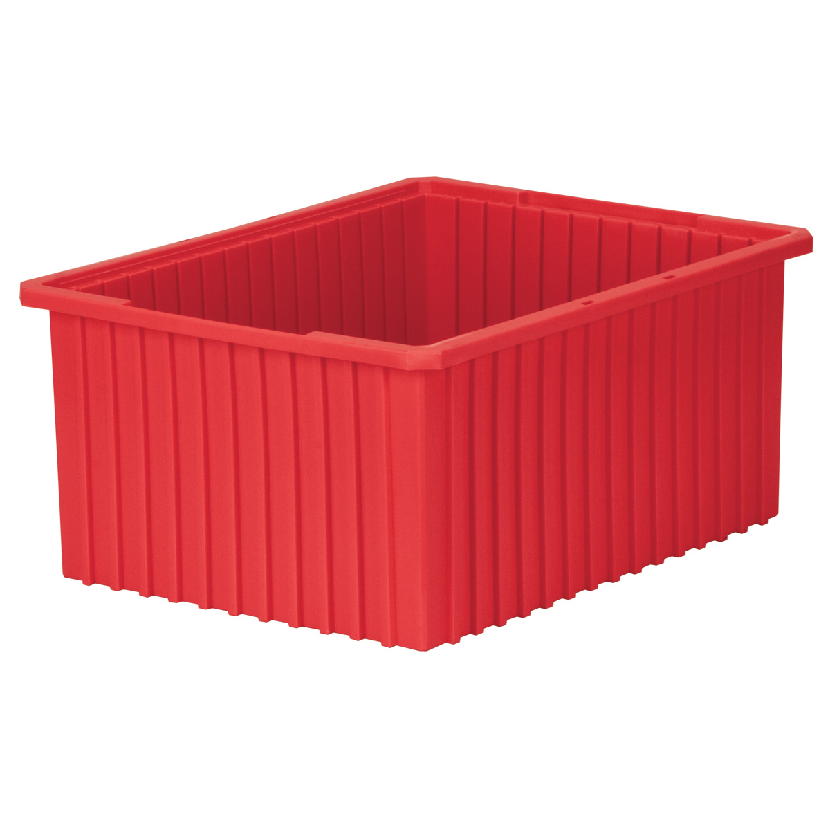 Akro-Grid Dividable Box 22-3/8 x 17-3/8 x 10, Red (33220RED).  This item sold in carton quantities of 2.