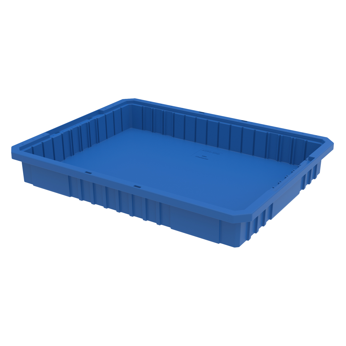 Akro-Grid Dividable Box 22-1/2 x 17-3/8 x 3, Blue (33223BLUE).  This item sold in carton quantities of 6.
